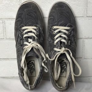 Vans Sneakers Off the Wall Grey White swirl 7.5